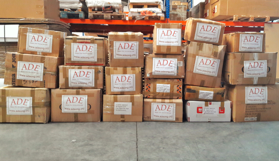 Paquetes de ayuda a Rumanía