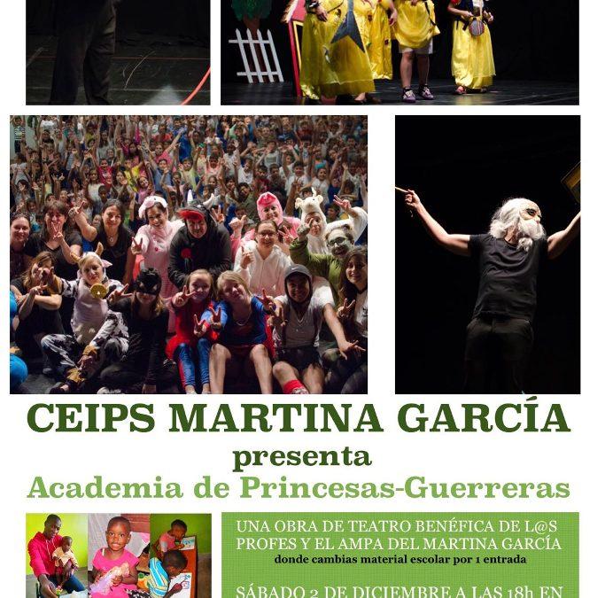 Colaboración con el Colegio Martina García